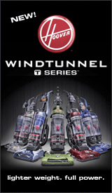 NEW! Hoover WINDTUNNEL T Series lighter weight. full power.