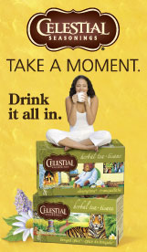 Celestial Seasonings - Herbal Tea - Take a Moment. - Drink It All In.