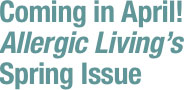 Allergic Living's Winter Issue. Great Reading!