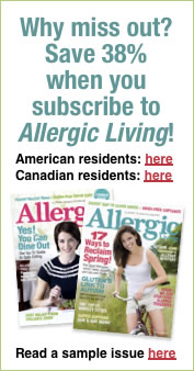Why miss out? Save 38% when you subscribe to Allergic Living!