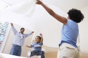Allergy-proofing house