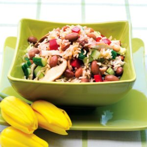 Shiitake and Bean Power Salad