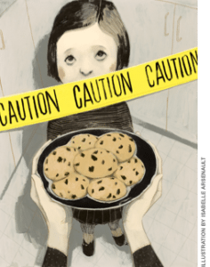 Caution relatives ahead illustration by Isabelle Arsenault