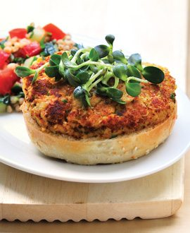 Chickpea Burgers - Spring12