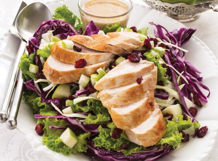 Cran-Apple Crunch Chicken Salad crop