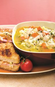 Roast Chicken and Rice Soup
