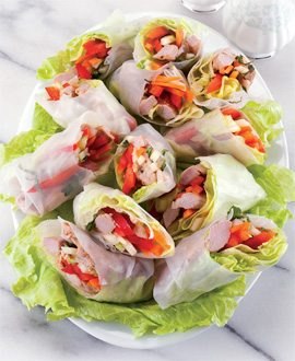 Thai-Style Rice Rolls - Winter11