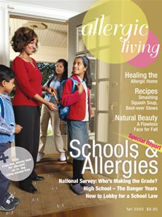 Allergic Living Fall 2005 Cover