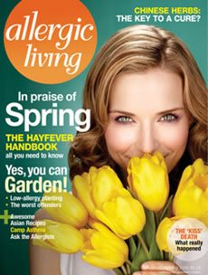 Allergic Living Spring 2006 Cover