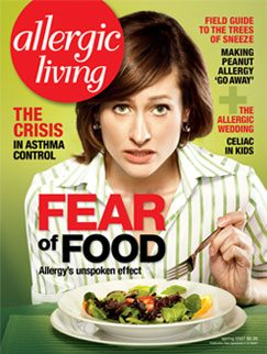 Allergic Living Spring 2007 Cover
