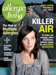 Allergic Living Summer 2007 Cover