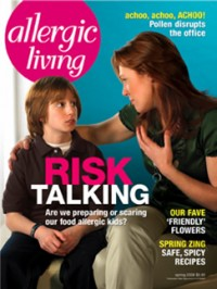 Allergic Living Spring 2008 Cover