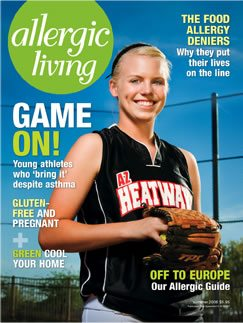 Allergic Living Summer 2008 Cover