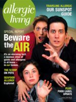 Allergic Living Winter 2008 Cover