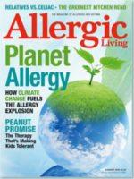 Allergic Living Summer 2009 Cover