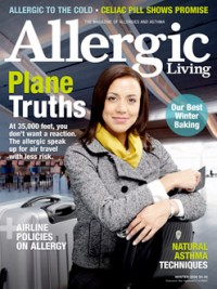 Allergic Living Winter 2009 Cover
