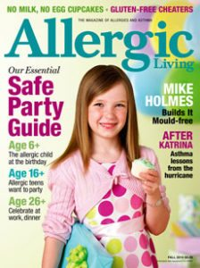 Allergic Living Fall 2010 Cover