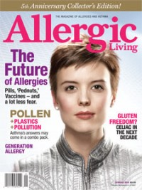 Allergic Living Spring 2010 Cover