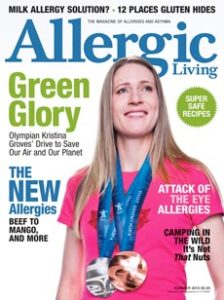 Allergic Living Summer 2010 Cover