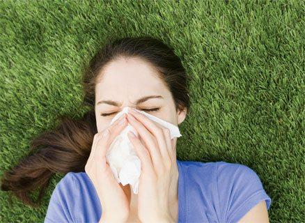 Grass allergy