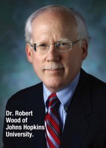 Robert Wood and caption