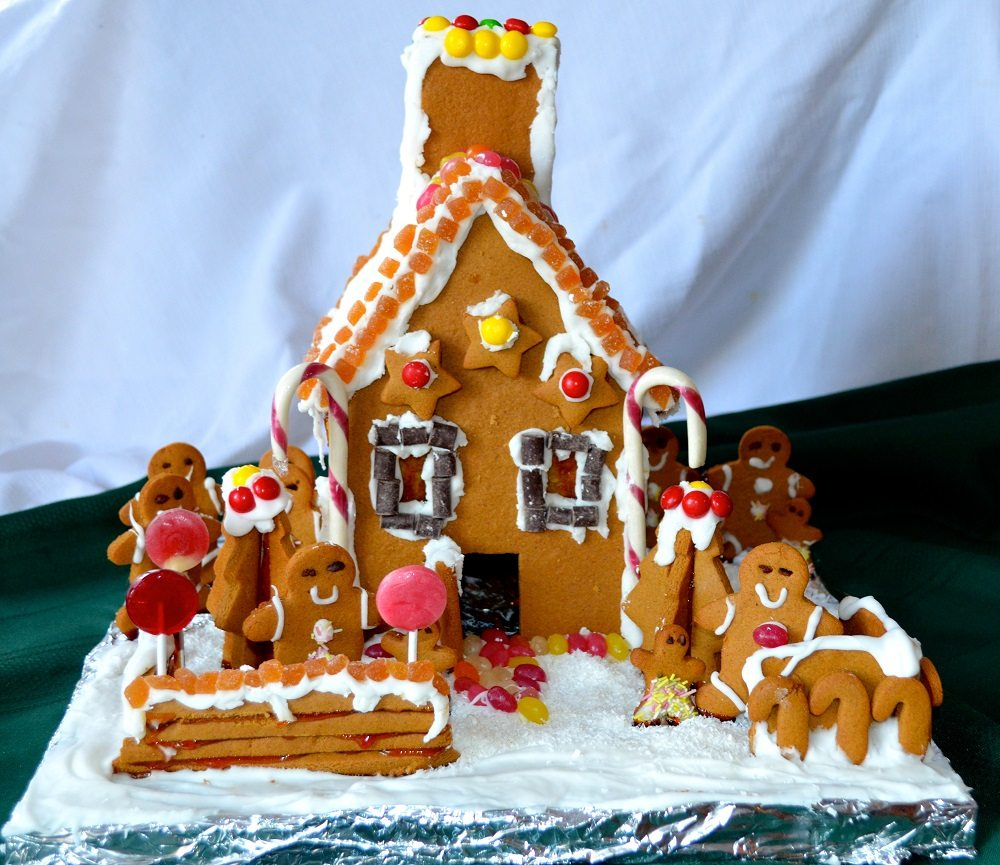 Allergy Friendly Gluten Free Gingerbread House