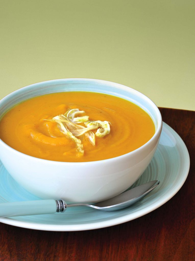 Spiced Sweet Potato Soup   Allergic Living