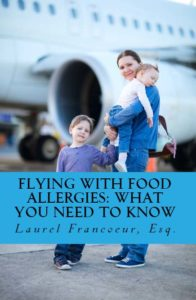 flying with food allergies_book