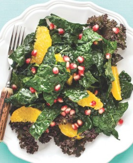 Kale-Salad-Pomegranate-citrus crop