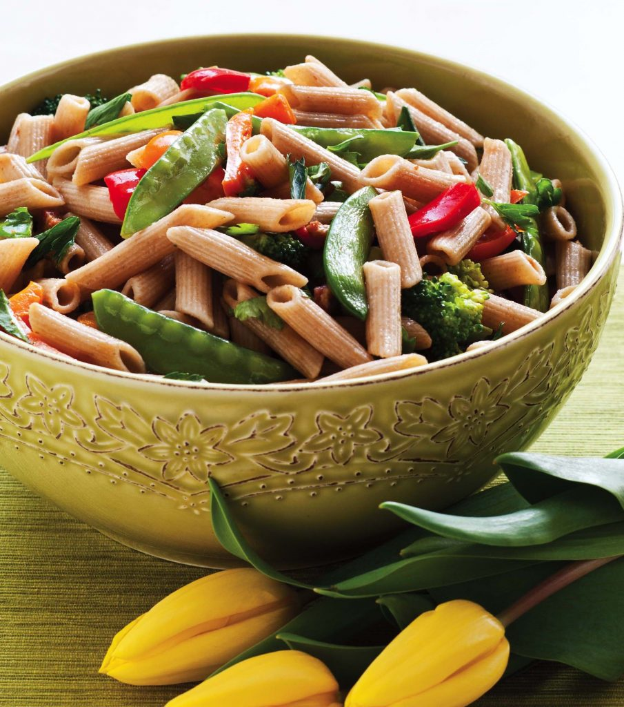 ... spring vegetables penne with green spring and spring vegetables penne