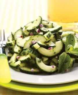 crunchy cucumber salad