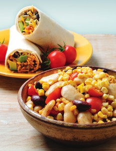 Grilled Corn Salad crop