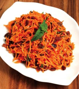 Carrot Salad with Shallots and Mint crop