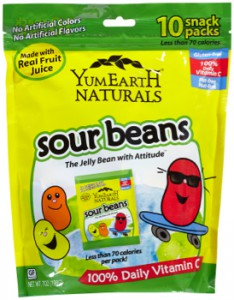 Yummy Earth - Sour Beans