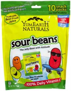 Yummy Earth - Sour Beans