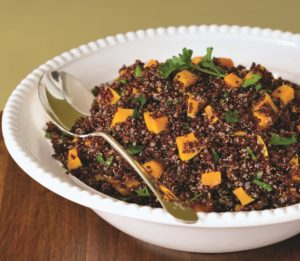 Red Quinoa crop