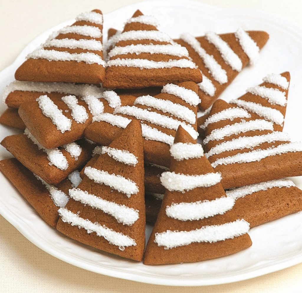Gingerbread Trees with Lemon Icing | Allergic Living
