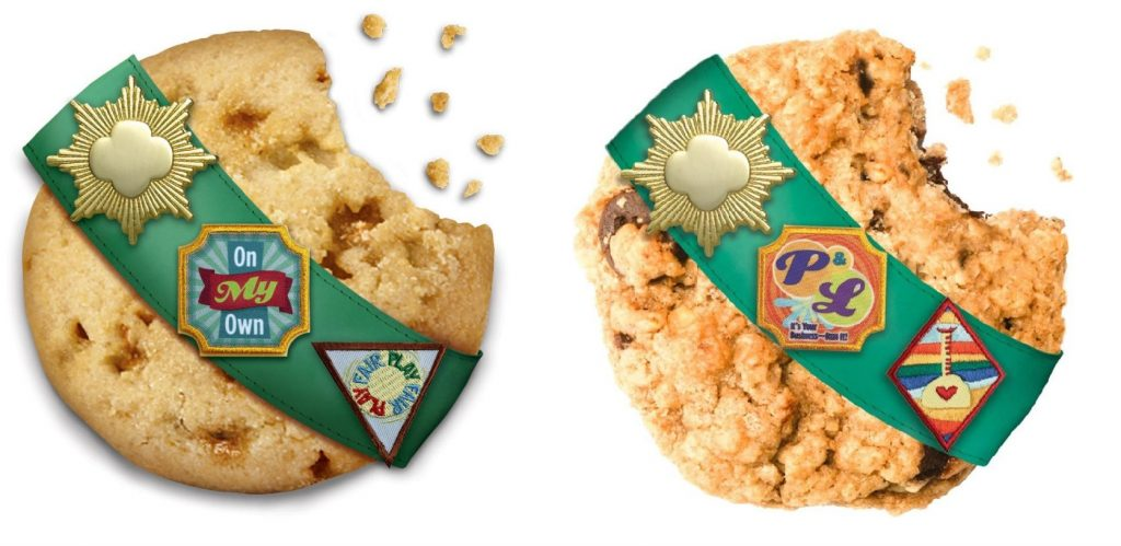 are girl scout cookies made in a nut free facility