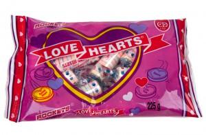 Rockets Love Hearts