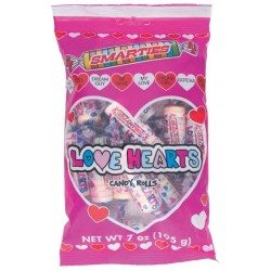 Smarties love-hearts