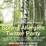 Spring Allergy Twitter Party 2016 - FINAL Poster crop