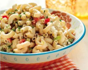 Classic Creamy Macaroni Salad crop2