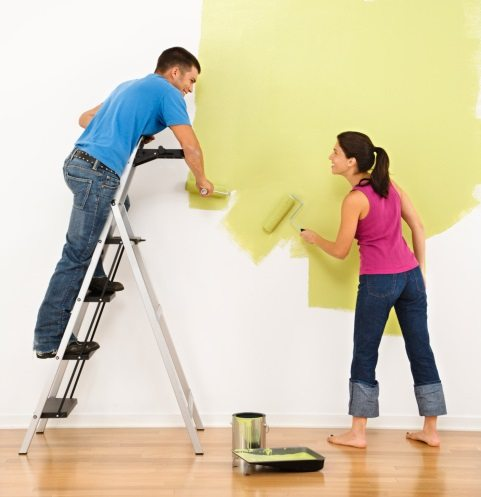 Paint Walls Without Fumes