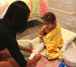 Wet wrap therapy proven effective in children