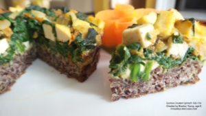 Quinoa Spinach Pie - Braxton
