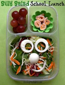 Silly Salad School Lunch - AA1