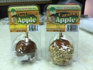 Tastee caramel apples