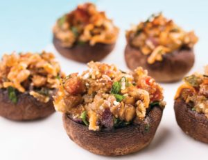 Lentil and Herb Stuffed Mushrooms crop