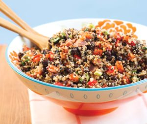 Quinoa salad crop