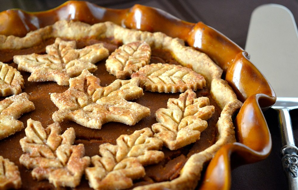 Classic Pumpkin Pie with Flaky Gluten-Free Crust ...
